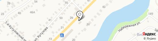 Анисовский на карте Приволжского