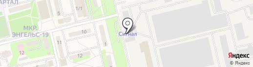 Манометр на карте Приволжского
