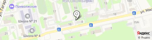 999 на карте Приволжского