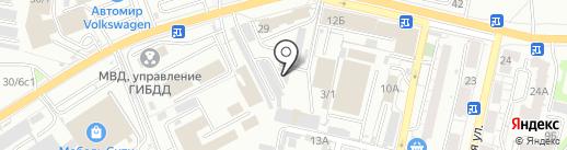 Сервис-монтаж на карте Саратова
