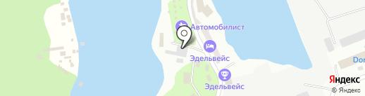 Автомобилист на карте Энгельса