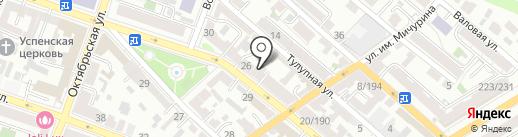 Саратовский хостинг серверов на карте Саратова
