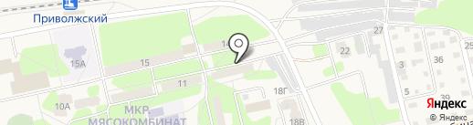Арес на карте Приволжского