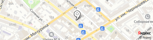 Качество жизни на карте Саратова