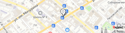 Цып-цып на карте Саратова