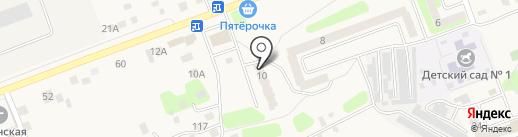 Аллея цветов на карте Приволжского