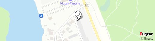 Мега-Строй на карте Энгельса