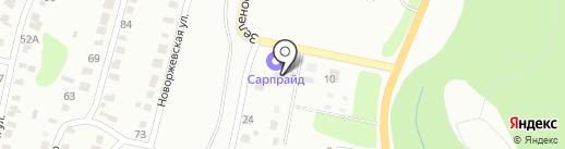 База стройматериалов на карте Саратова