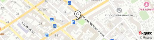 Магазин табачных изделий на карте Саратова