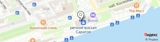 Ивекта-Маркет на карте Саратова