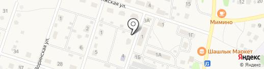 Рубин 2009 на карте Дубков