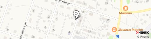 Рубин 2009, ТСЖ на карте Дубков