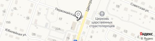 Южный двор на карте Дубков