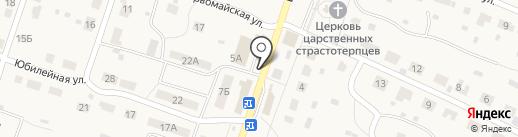 Киоск по продаже мясной продукции на карте Дубков