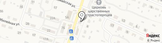 Магазин овощей и фруктов на карте Дубков