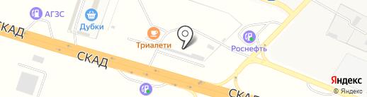 Агроцентр на карте Дубков