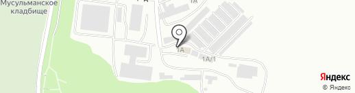 Лада-шико на карте Саратова