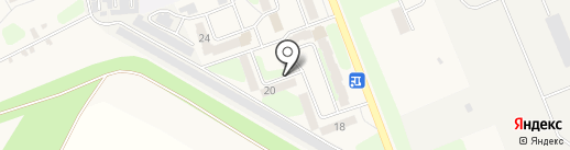 Магазин хозяйственных товаров и бытовой химии на карте Приволжского