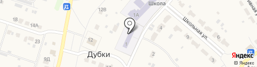 Веснушки на карте Дубков