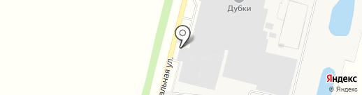 Магазин хлебобулочных изделий на карте Дубков