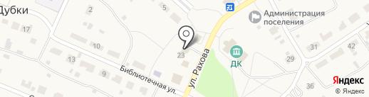Александрово-Гайский Кордон на карте Дубков