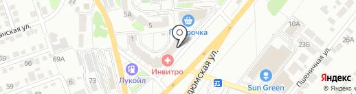 Автомаркет на карте Саратова
