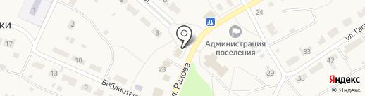 Продуктовый магазин на карте Дубков