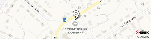 Почтовое отделение на карте Дубков