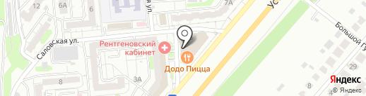 Оникс на карте Саратова