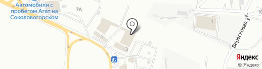 Блюз-Профи на карте Саратова