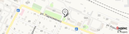 Магазин овощей и фруктов на карте Приволжского