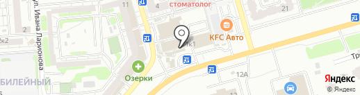 Халял-бяркат на карте Саратова