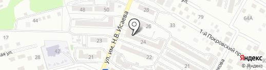 Леопольд на карте Саратова