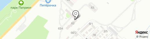 Магазин автозапчастей для Hyundai, Renault, Daewoo на карте Энгельса