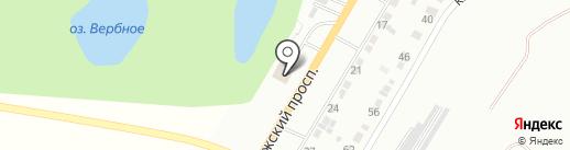 Автосервис на карте Энгельса