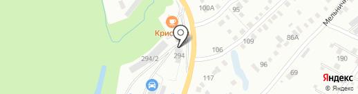 СатисАвто на карте Энгельса