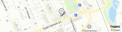Магазин сантехники и хозтоваров на карте Энгельса