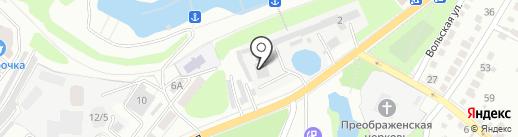 Ремонтно-установочная фирма на карте Энгельса
