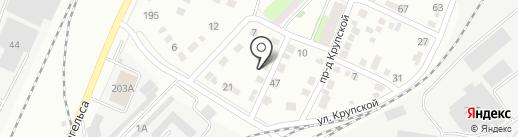Покровский железный двор на карте Энгельса
