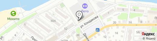 Теплоком на карте Энгельса