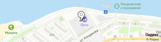 Каретта на карте Энгельса