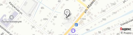 Разумные окна на карте Энгельса