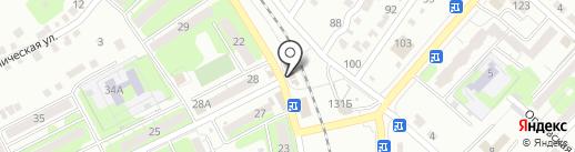 Покровск-2000 на карте Энгельса