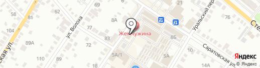 Отдел Федеральной службы судебных приставов по г. Энгельсу и Энгельсскому району Саратовской области на карте Энгельса