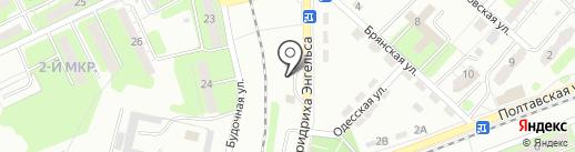 АЗС VipShopOil на карте Энгельса
