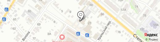 14 отряд ФПС Саратовской области на карте Энгельса