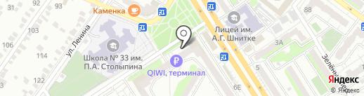 Кардио на карте Энгельса