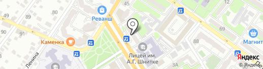 Копировальный салон на карте Энгельса