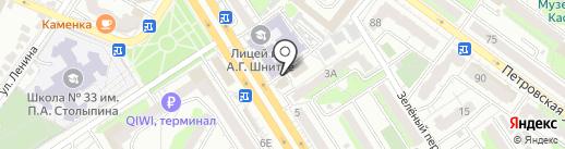 Кабинет психолога Елены Сергеевны на карте Энгельса