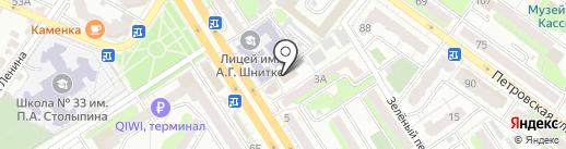 Modium-Shop на карте Энгельса